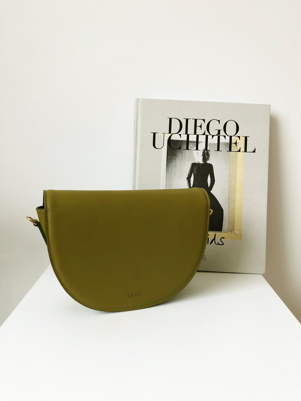 MANGO BAG3-GOLDEN OLIVE
